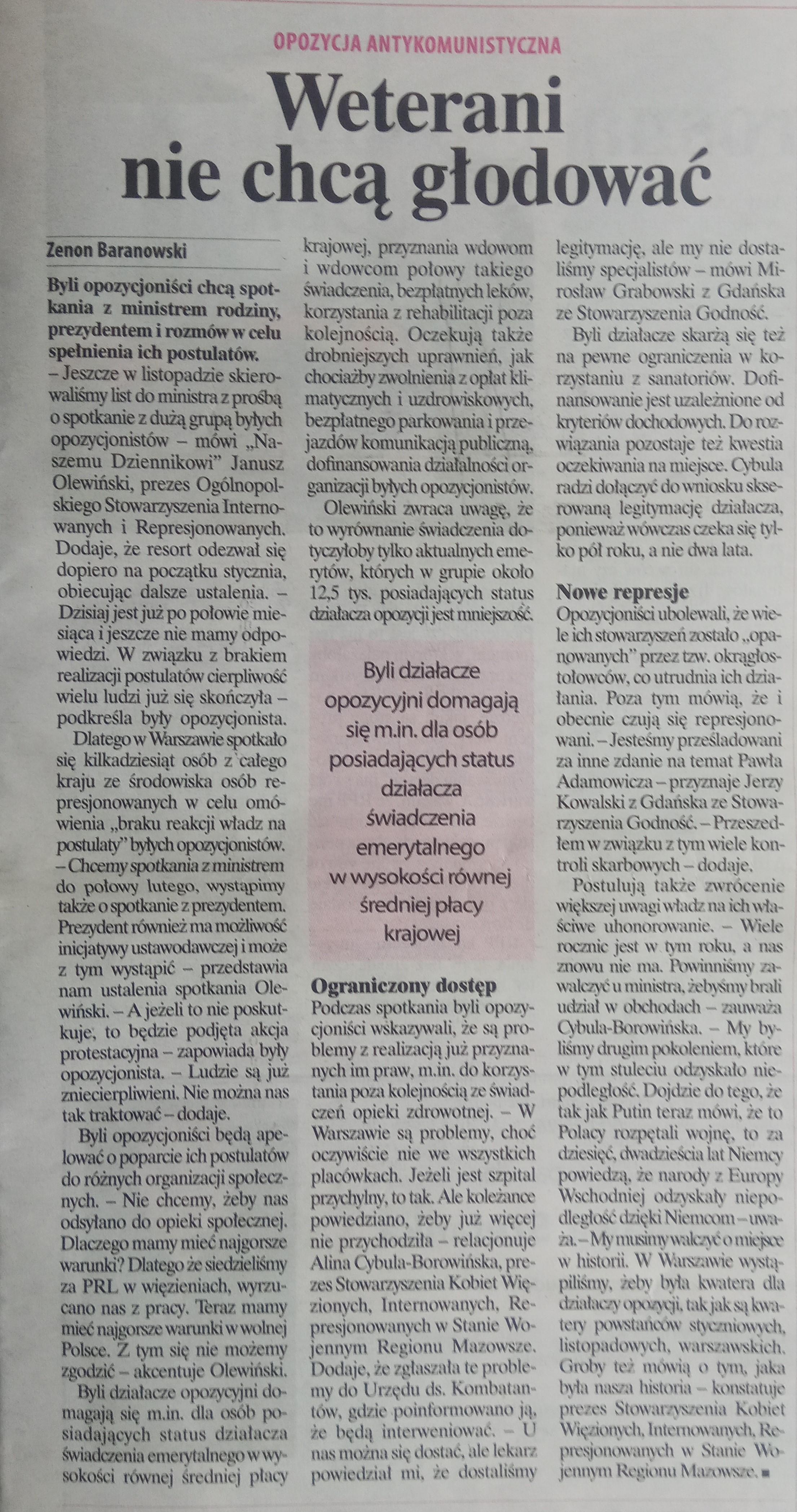 Nasz Dziennik 21.01.2020